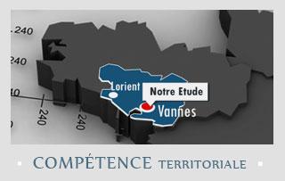 Compétence territoriale la moitié du département du